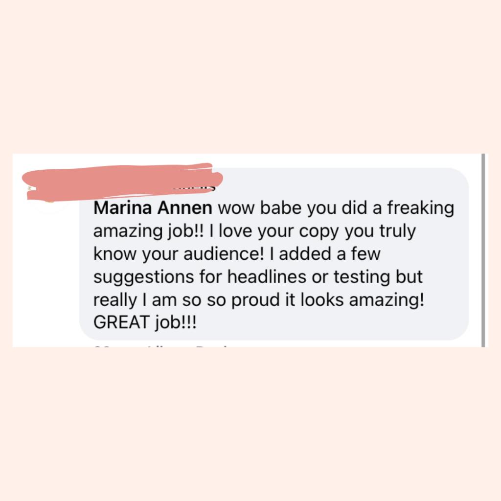 Testimonial Marina Annen 5